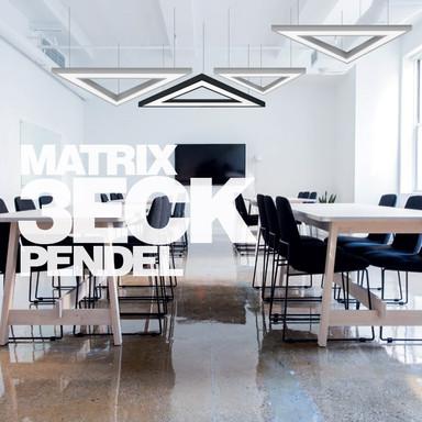 Eigene Leuchtenmanufaktur, Serie Matrix 3ECK.