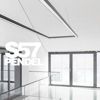 Eigene Leuchtenmanufaktur, Serie Luminar S57 Pendel.