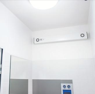 Serie hygieiaTEC V38. Einfache Montage und sehr effizient.