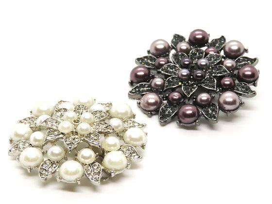 珍珠花系金釦