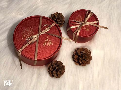 緞帶喜糖盒