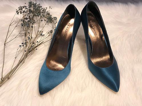 絲綢緞布 FREESIA手工訂製鞋