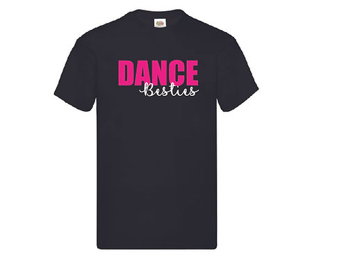 Dance Besties Black T-Shirt