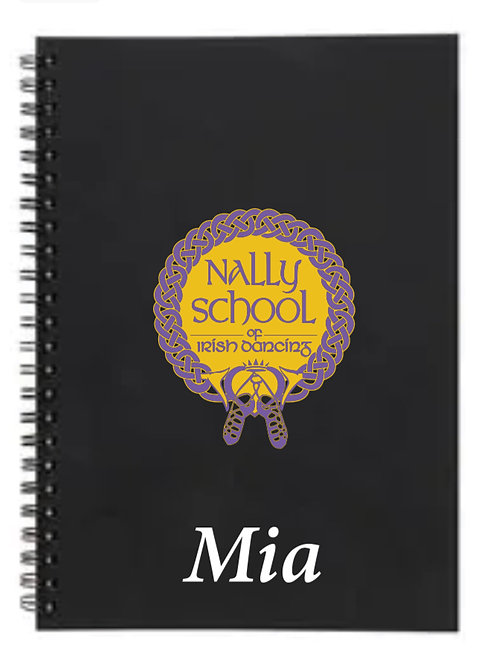 Personalised Notebook -  Nally Irish Dance