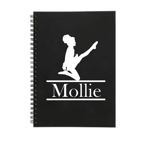 Irish Dancer Personalized lined A5 notebook