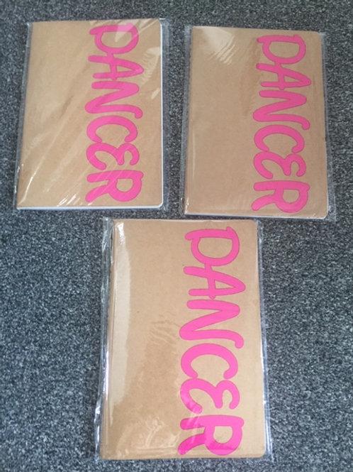A5 Notebook - Dancer Pink