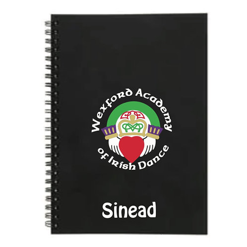 Personalised Notebook - Wexford Academy