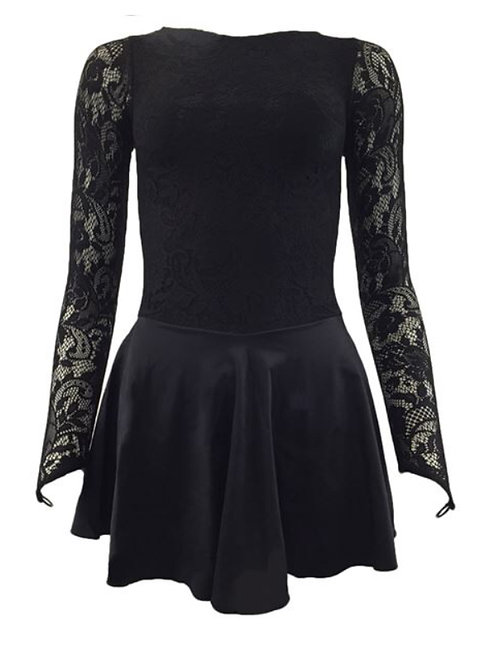 Irish Dance Black in between dress