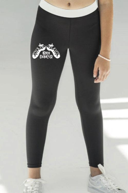 Full Length sports leggings -Irish Dance