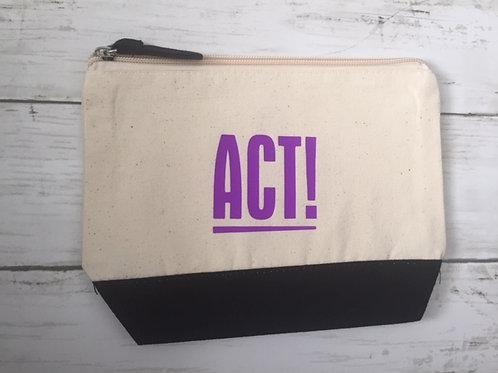 Makeup Bag ACT Purple