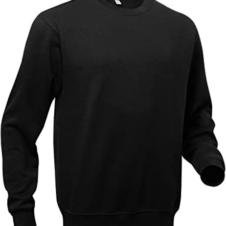 Mens black sweatshirt 2XL