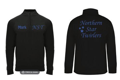 1/4 Zip Sports Jacket blue - Northern Star Twirlers
