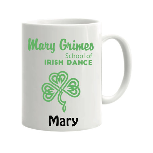 Treat Mug Personalised - Mary Grimes school of Irish Dancing