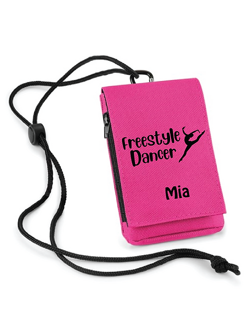 Freestyle Dancer Phone Carry Pouch