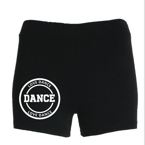LOVE DANCE shorts