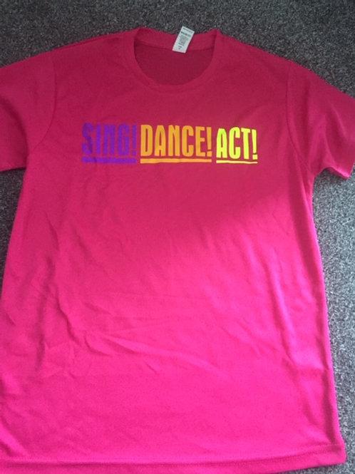 12-13 PINK Act, Dance Sing tee