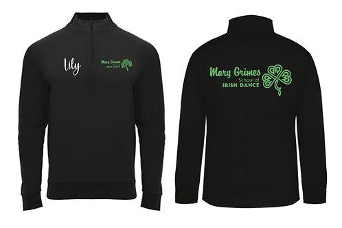 1/4 Zip Personalised - Mary Grimes school of Irish Dancing
