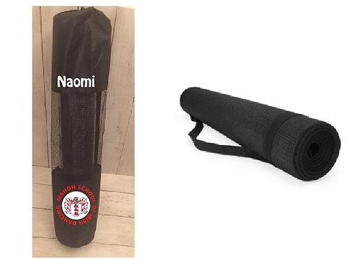 Yoga Mat (Red) in personalised carry bag - Mahon School of Irish Dancing