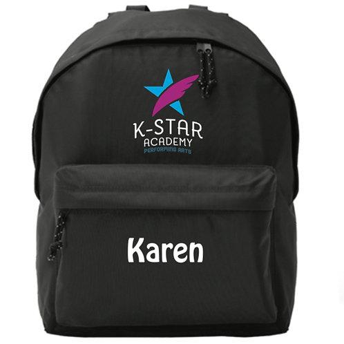 Personalised Backpack  - K STAR ACADEMY