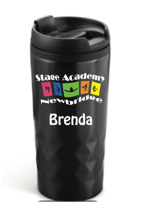 Personalised Travel Cup - Stage Academy Newbridge