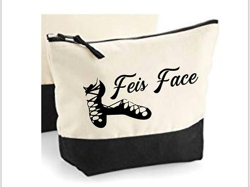 Feis Face - Irish dance Large Makeup Bag