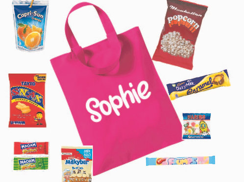 Personalised Name Treat Bag (with treats)