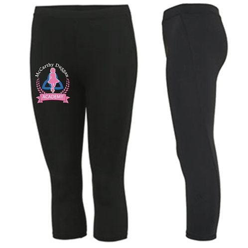 3/4 length sports leggings -  McCarthy Duggan Academy