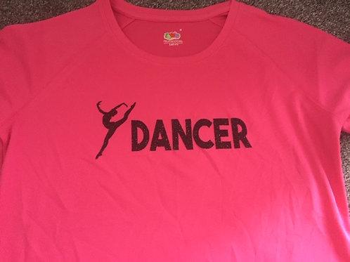 MEDIUM PINK Dancer tee