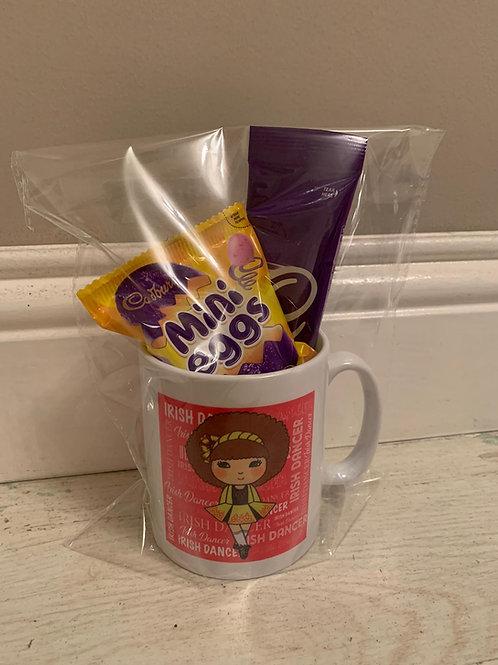 Irish Dancer treat mug - personalised