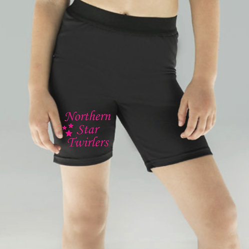 Bicycle shorts  - Northern Star Twirlers