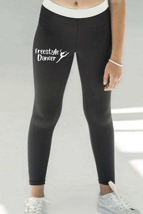 Full Length sports leggings -Freestyle dance