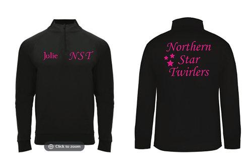 1/4 Zip Sports Jacket- Northern Star Twirlers