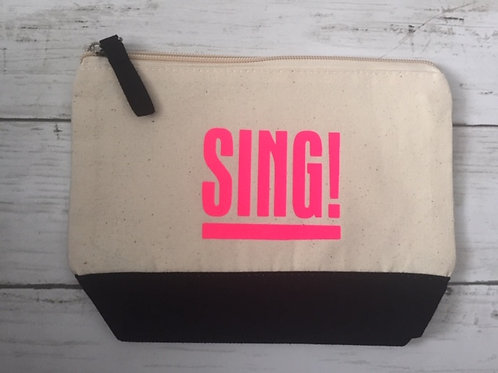 Makeup Bag SING Pink