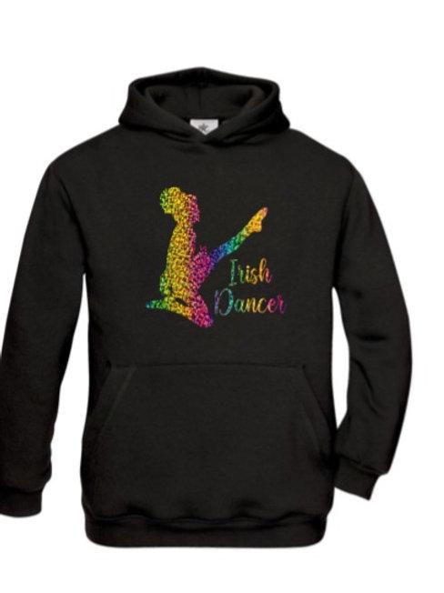 Small Irish Dancer rainbow hoodie