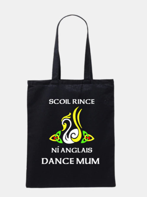 SCOIL RINCE NI ANGLAIS Tote Bag Personalised