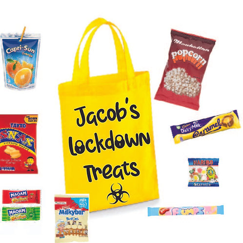 Personalised Lockdown Treat Bag (with treats)