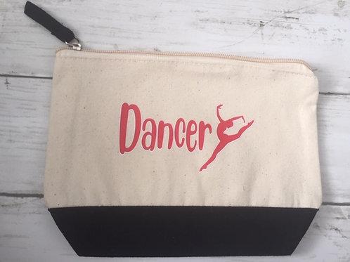 Makeup Bag  - dancer red