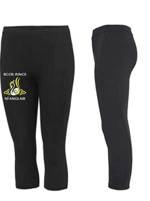 3/4 length sports leggings -  SCOIL RINCE NI ANGLAIS