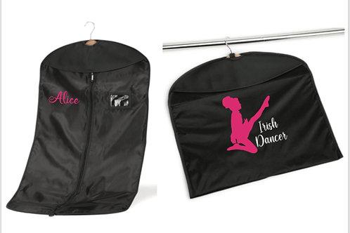 Irish dancer personalised costume bag