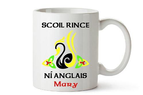SCOIL RINCE NI ANGLAIS - Treat Mug