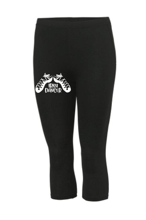 3/4 Length sports leggings - Irish Dance