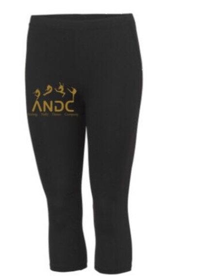 3/4 length sports leggings -  A.N.D.C
