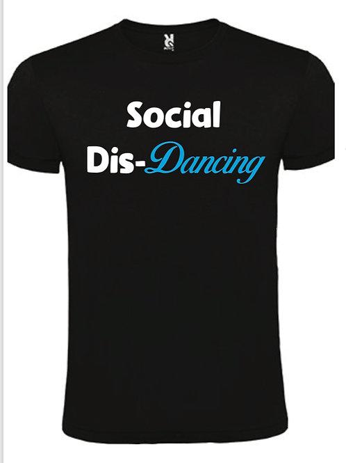 Social Dis-Dancing Black tee