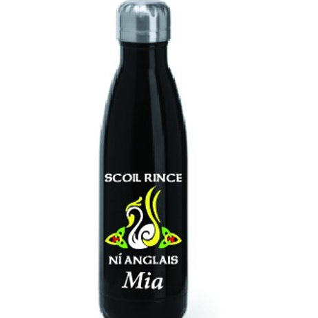 Water Bottle - personalised SCOIL RINCE NI ANGLAIS