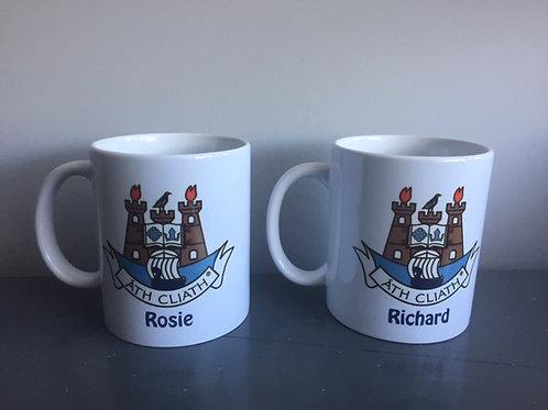 Personalised Club logo Mug