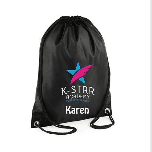 personalised Gym Sac - -  K STAR ACADEMY