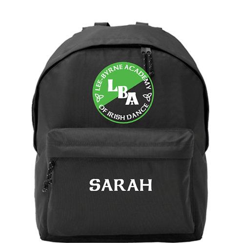 LEE BYRNE ACADEMY Back Pack Personalised