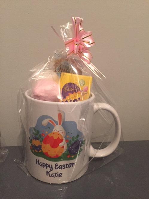 Easter Treat Mug - personalised (large egg design)