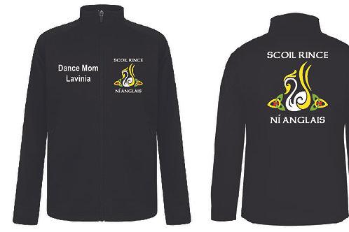 Full Zip Sports Jacket- SCOIL RINCE NI ANGLAIS