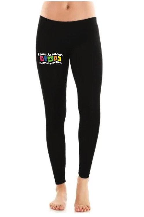 Full Length Cotton Leggings - Stage Academy Newbridge